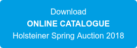 Download ONLINE CATALOGUE Holsteiner Spring Auction 2018