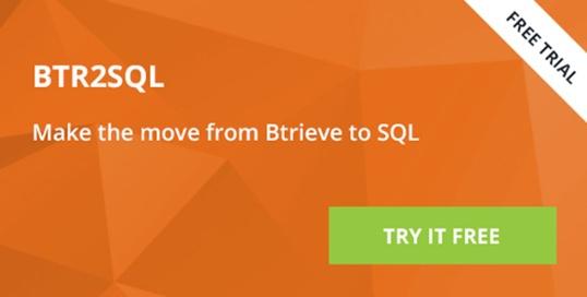 Free Trial - BTR2SQL