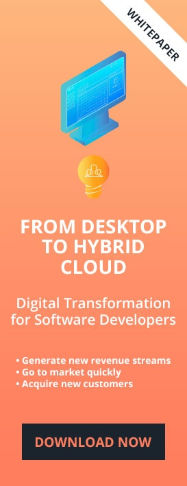 From Desktop to Hybrid Cloud - Digital Transformation for Software Developers - Thriftly.io - developed by Mertech