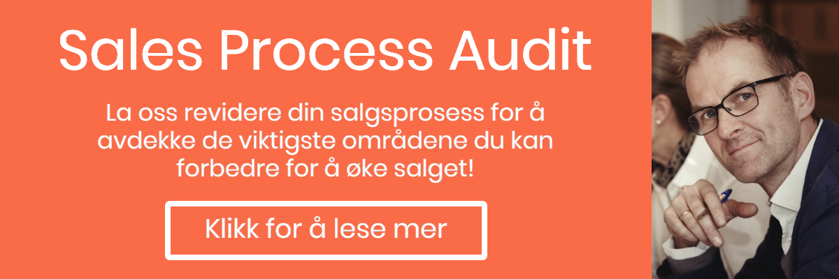 SalesProcess audit - la nard revidere din salgsprosess