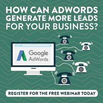 Register for the free Google AdWords Webinar
