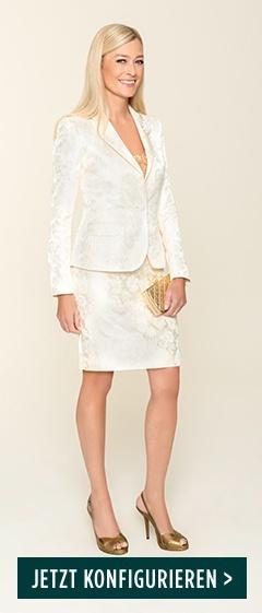 DOLZER-Kostüm-Hochzeitskleid-Braut-Hochzeit-Standesamt-Trauung-Blazer-Rock-nach-Maß