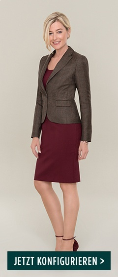 DOLZER-Lady-Business-Etuikleid-bordeaux-Blazer-HW17