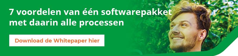 7 voordelen van één softwarepakket in de tuinbouw