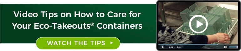 Eco-Takeouts Containers Care and Maintenance