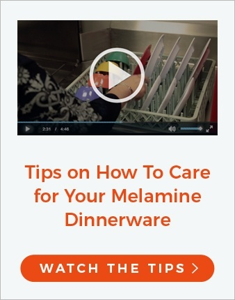 Melamine Dinnerware Care and Maintenance Video