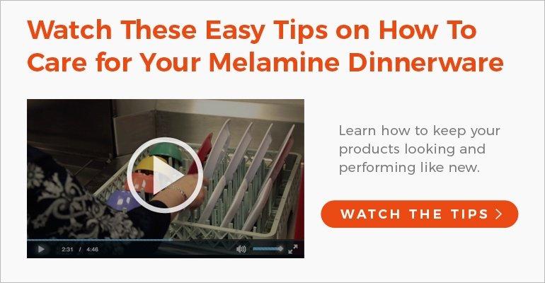 Melamine Dinnerware Care and Maintenance Video
