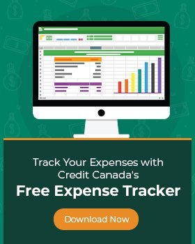 Track Your Expenses with Credit Canada's Free Expense Tracker. Download Now.