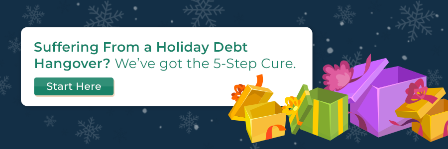 Suffering From a Holiday Debt Hangover