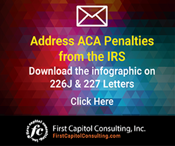 Address ACA Penalties from the IRS - Download the Infographic on 226J & 227 Letters