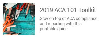 2019 ACA 101 Toolkit