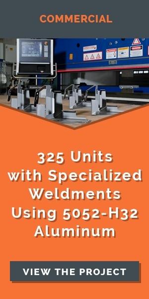 aluminum-weldment