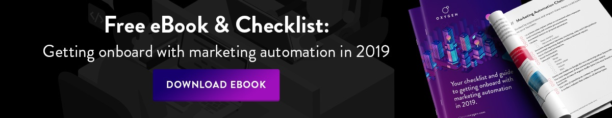 Free marketing automation ebook!