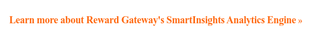 Learn more about Reward Gateway's SmartInsights Analytics Engine »