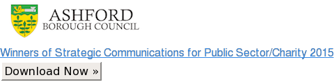 Winners of Strategic Communications for Public Sector/Charity 2015 Download Now »