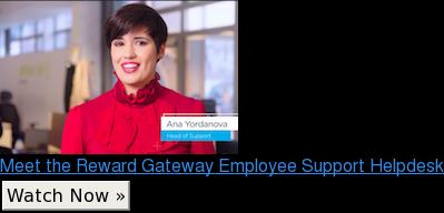Meet the Reward Gateway Employee Support Helpdesk Watch Now »