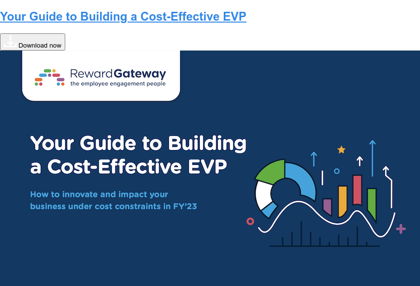 Using Recognition, Reward and Benefits to Invest in Culture Transformation  Download eBook