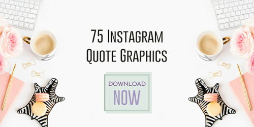 Instagram Quote Graphics - Free Download
