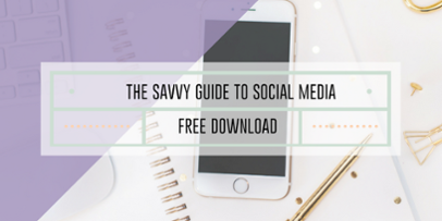Free Marketing Download - Savvy Guide to Social Media