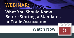Webinar: Starting a Standards or Trade Association