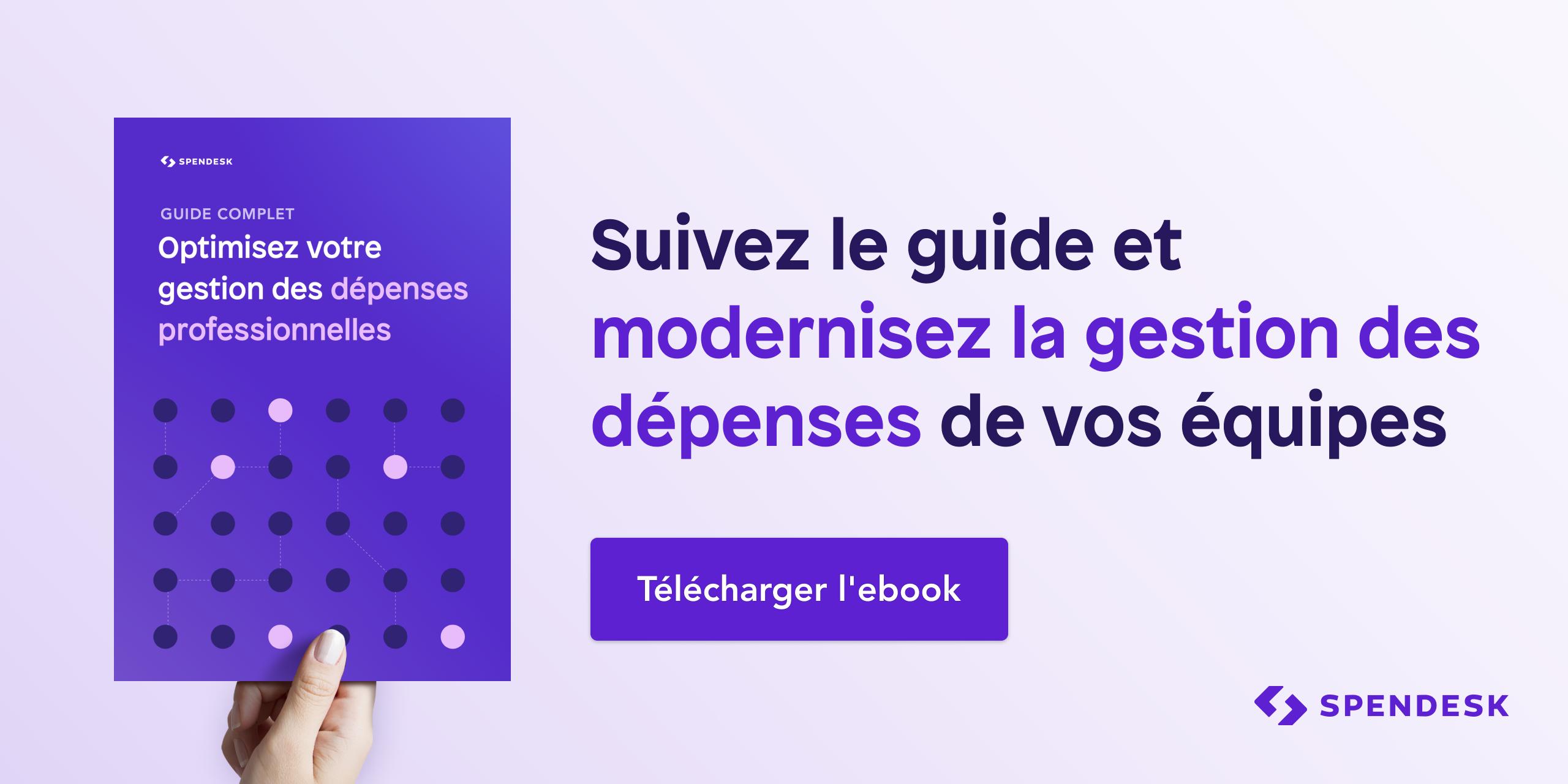 ebook - guide optimisation des dépenses pro - Spendesk