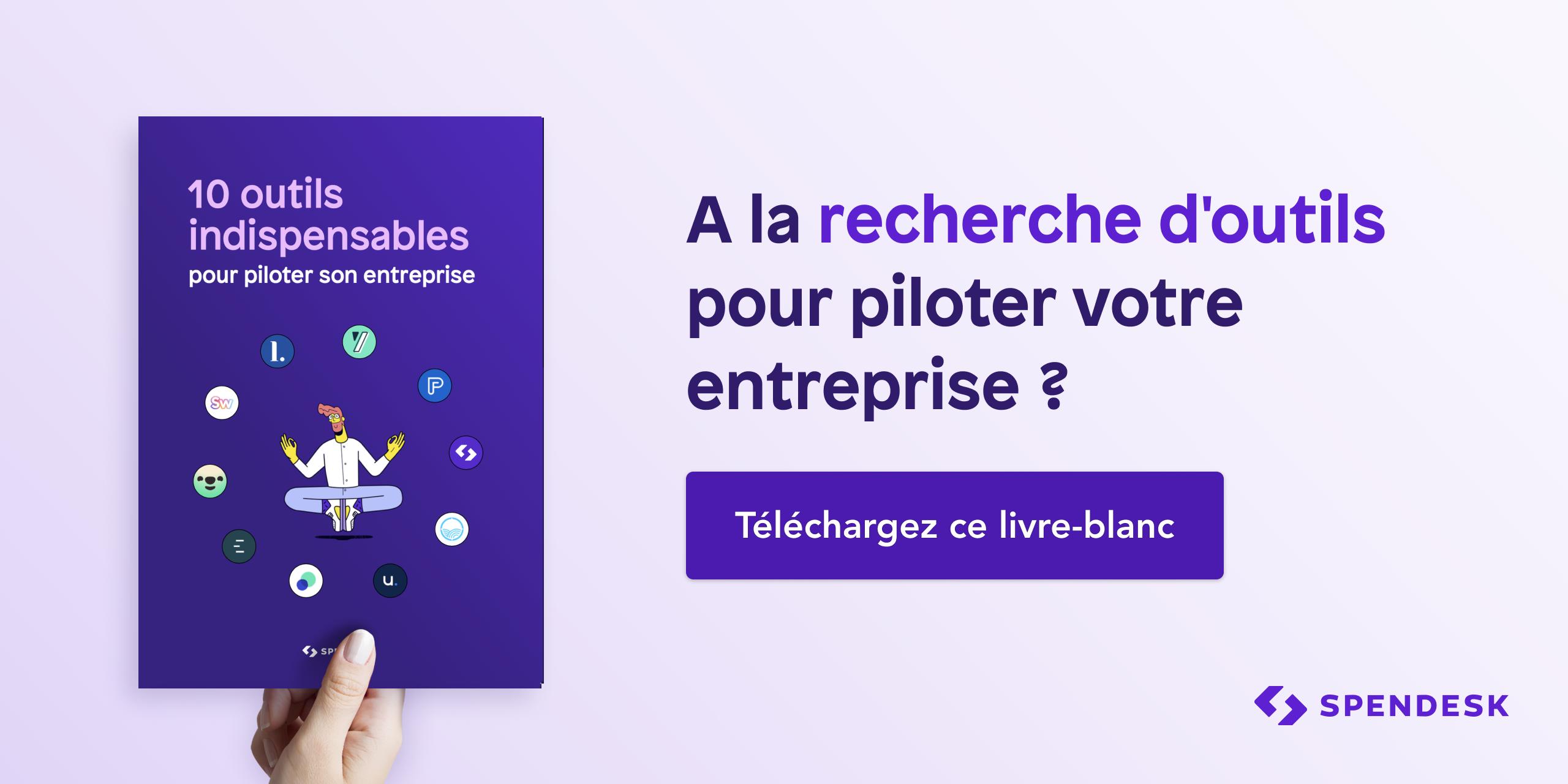 ebook - spendesk - outils - pilotage - entreprise