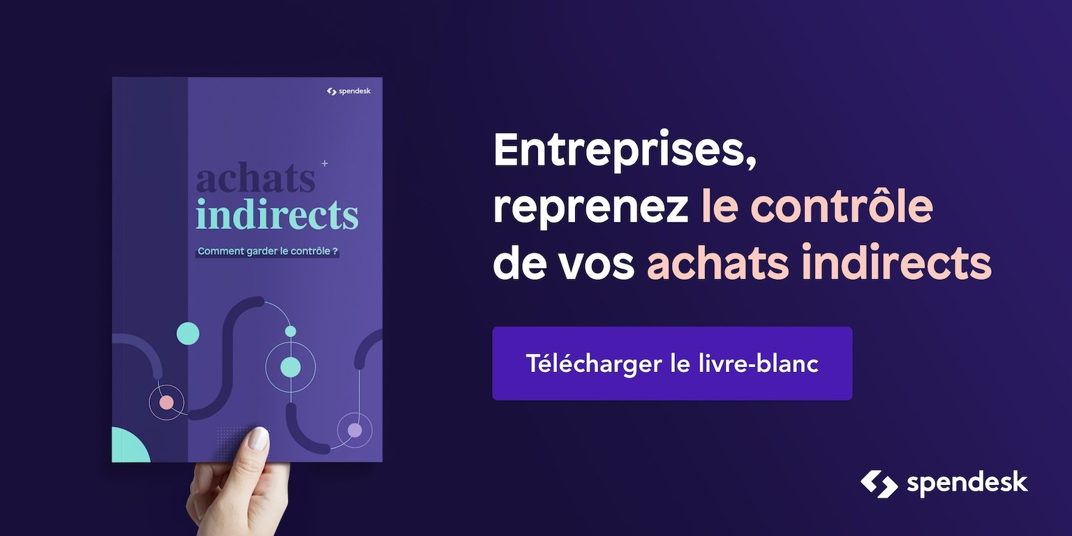Ebook - Spendesk - Achats indirects - garder le contrôle