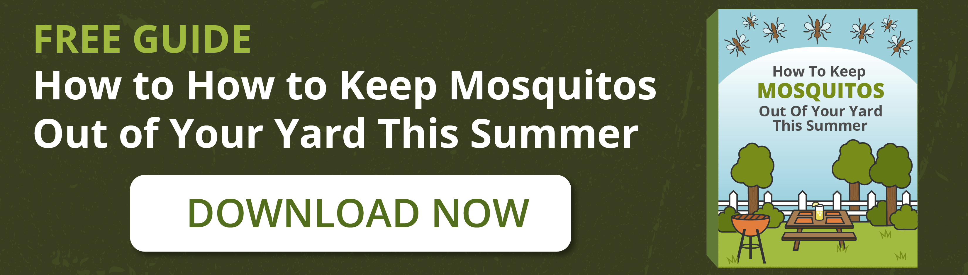 How to Keep Mosquitos Out of Your Yard This Summer