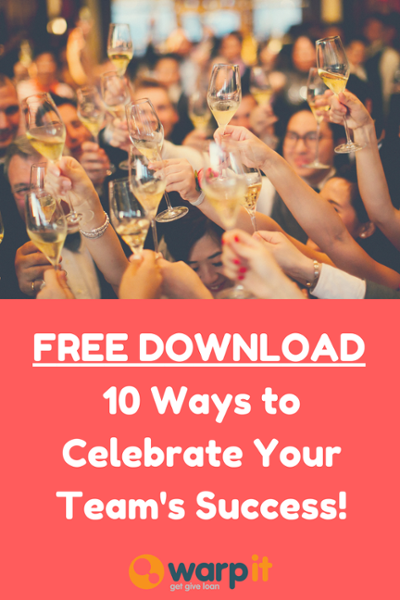 10 ways celebrate success team