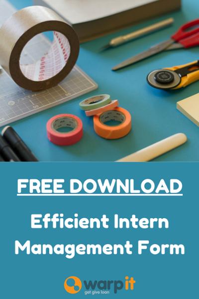 intern management tool