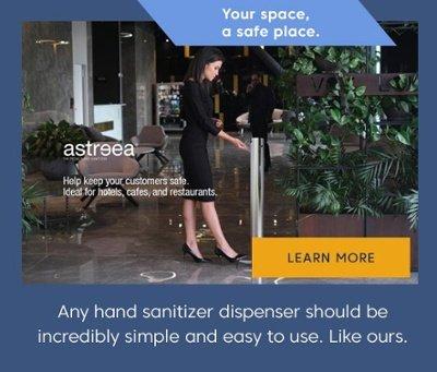 Astreea Pedal Hand Sanitizer Dispenser