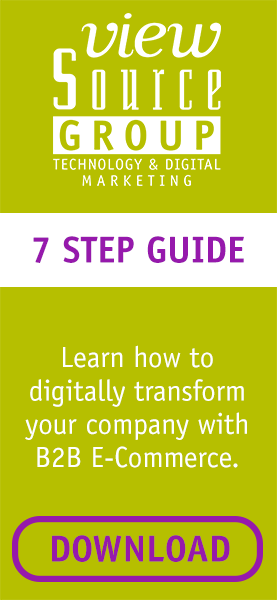 7 step guide to using b2b ecommerce for digital transformation