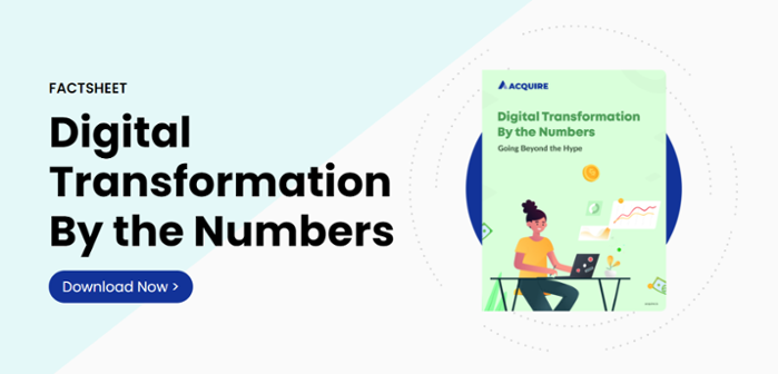 Factsheet - digital transformation by the numbers