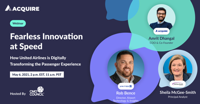 How United Airlines is digitally transforming the passenger experience webinar