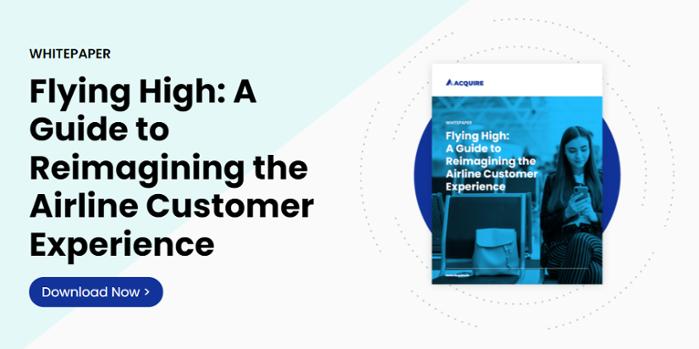 Whitepaper - reimagining airline customer experience
