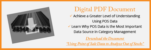 """Complimentary PDF Download of """"Using Point of Sale Data to Analyze Out of Stocks"""" from Category Management Knowledge Group"""