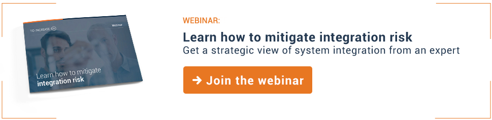 Learn how to mitigate integration risk