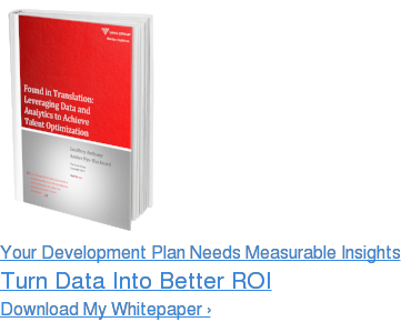 Your Development Plan Needs Measurable Insights Turn Data Into Better ROI Download My Whitepaper ›