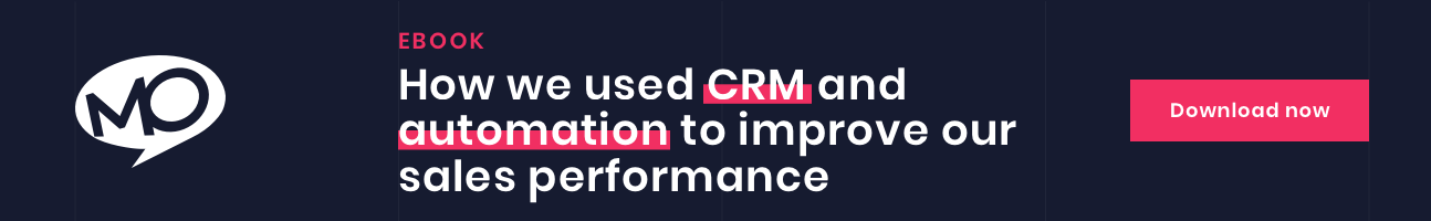 CRM Automation to improve our sales performance