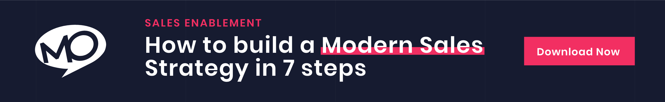 How to build a modern sales strategy in 7 steps