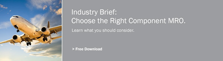 Choose the right component MRO provider.