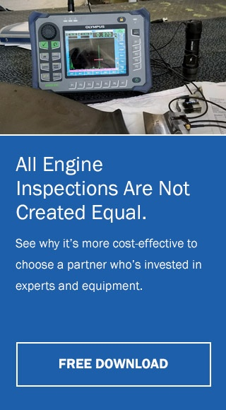 AerSale is your engine inspector who has invested in experts and equipment.