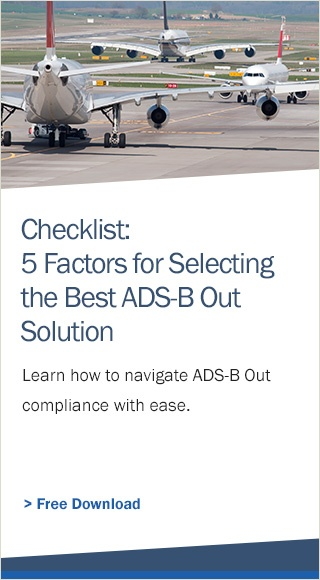 Get ADS-B compliant with AerTrak.