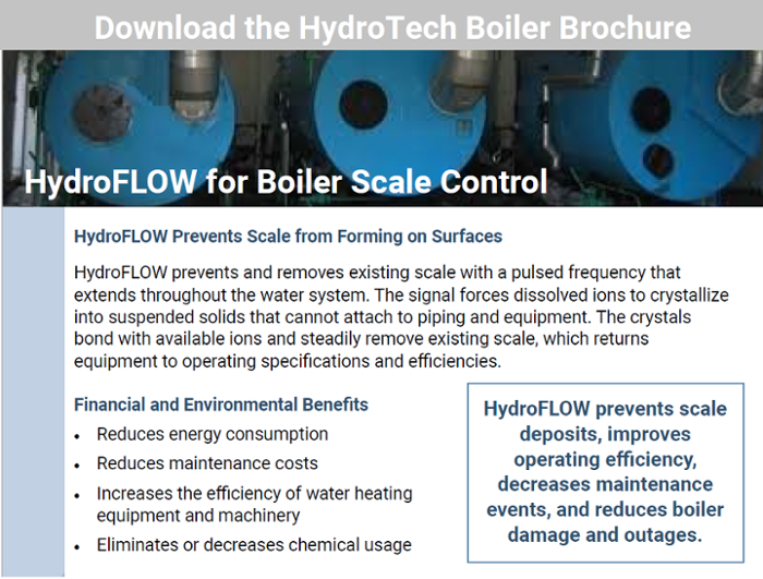 Eco-friendly scale control in boilers