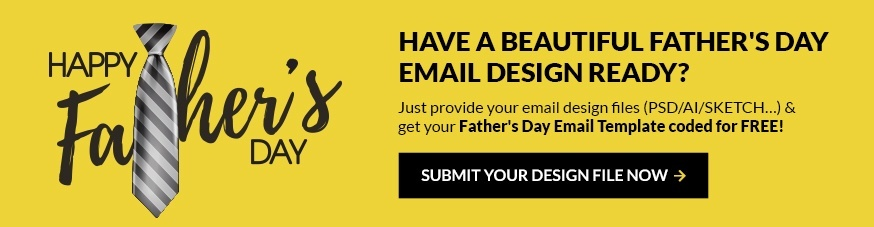 Provide your email design & get your first order free