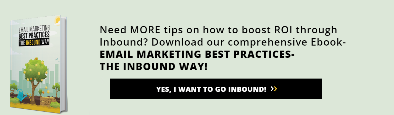 Go Inbound! Download Inbound Email Marketing Ebook Now!