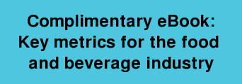 Complimentary eBook: Key metrics for the food and beverage industry