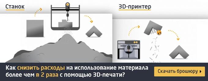 Как снизить коэффициент использования материала с помощью 3D-печати металлами