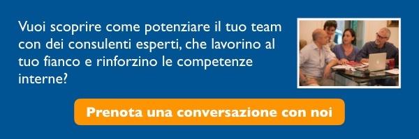 prenotate una conversazione con Marketing Blu