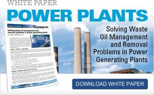 Download White Paper: Waste Oil Removal in Power Plants